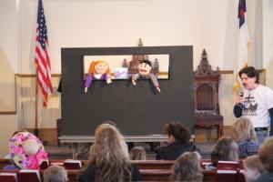 Easter Egg Hunt Puppet Show
